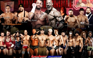 Wallpaper Royal Rumble 2013