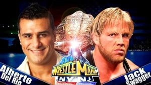 Wallpaper Alberto del rio vs Jack Swagger WrestleMania29