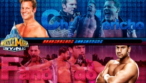 Wallpaper Chris Jericho vs Fandango Wrestlemania 29