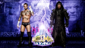 Wallpaper Undertaker vs CM Punk  WrestleMania 29