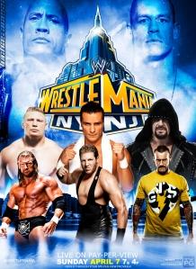 WrestleMania 29 Poster 2013 LuchaAcess