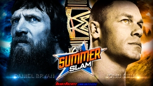 Wallpaper John Cena vs Daniel Bryan SummerSlam 2013