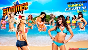 Wallpaper SummerSlam Divas 2013