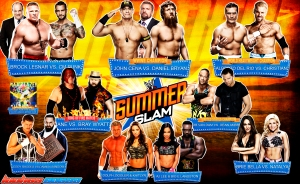 Wallpaper SummerSlam 2013