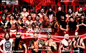 Wallpaper Royal Rumble 2014