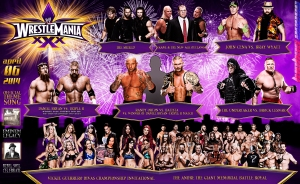 Wallpaper WrestleMania XXX 2014