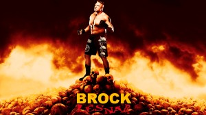 Wallpaper Brock Lesnar 2014