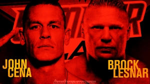 Wallpaper Brock Lesnar vs. John Cena SummerSlam 2014