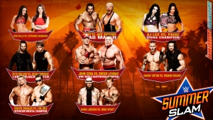 Wallpaper SummerSlam 2014