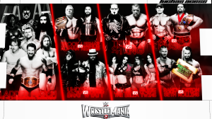 Wallpaper WrestlemMania 31 2015