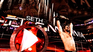 Wallpaper Seth Rollins Wrestlemania 31