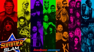 Wallpaper SummerSlam 2015